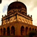Tomb of Muhammad Qutb Shah in Hyderabad, India.