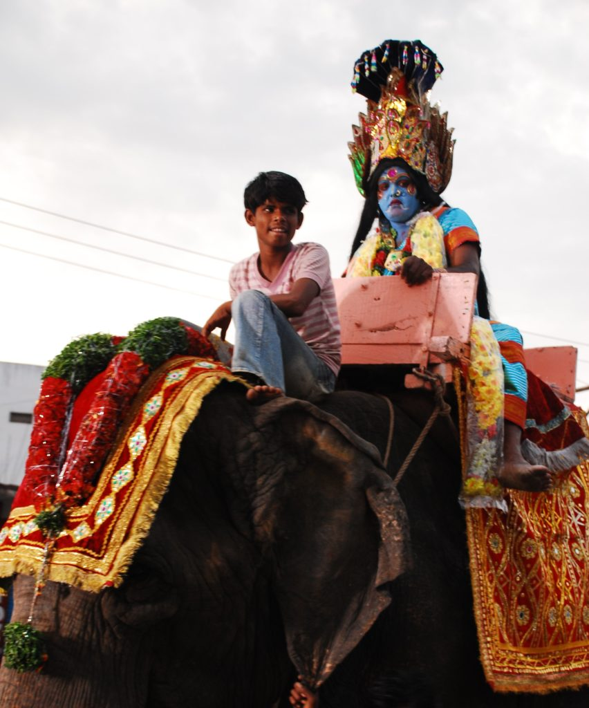 Kali …on the Elephant!