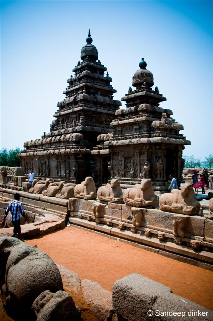 Mahabalipuram : The shore temple that survived the winds of change