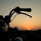 Riding into the Sunset..